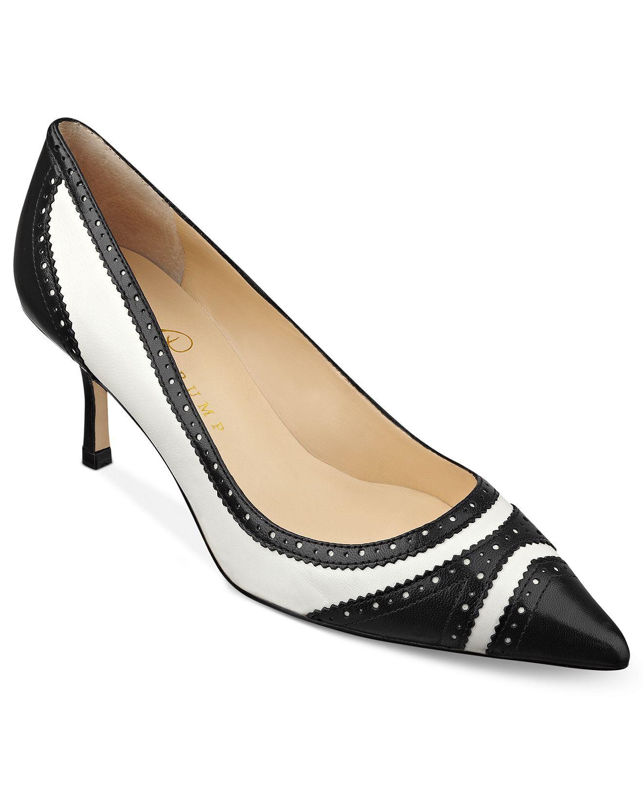 Ivanka Trump Shoes, Ilyssa Mid Heel Pumps - Designer Shoe Shop - Shoes -  Macys