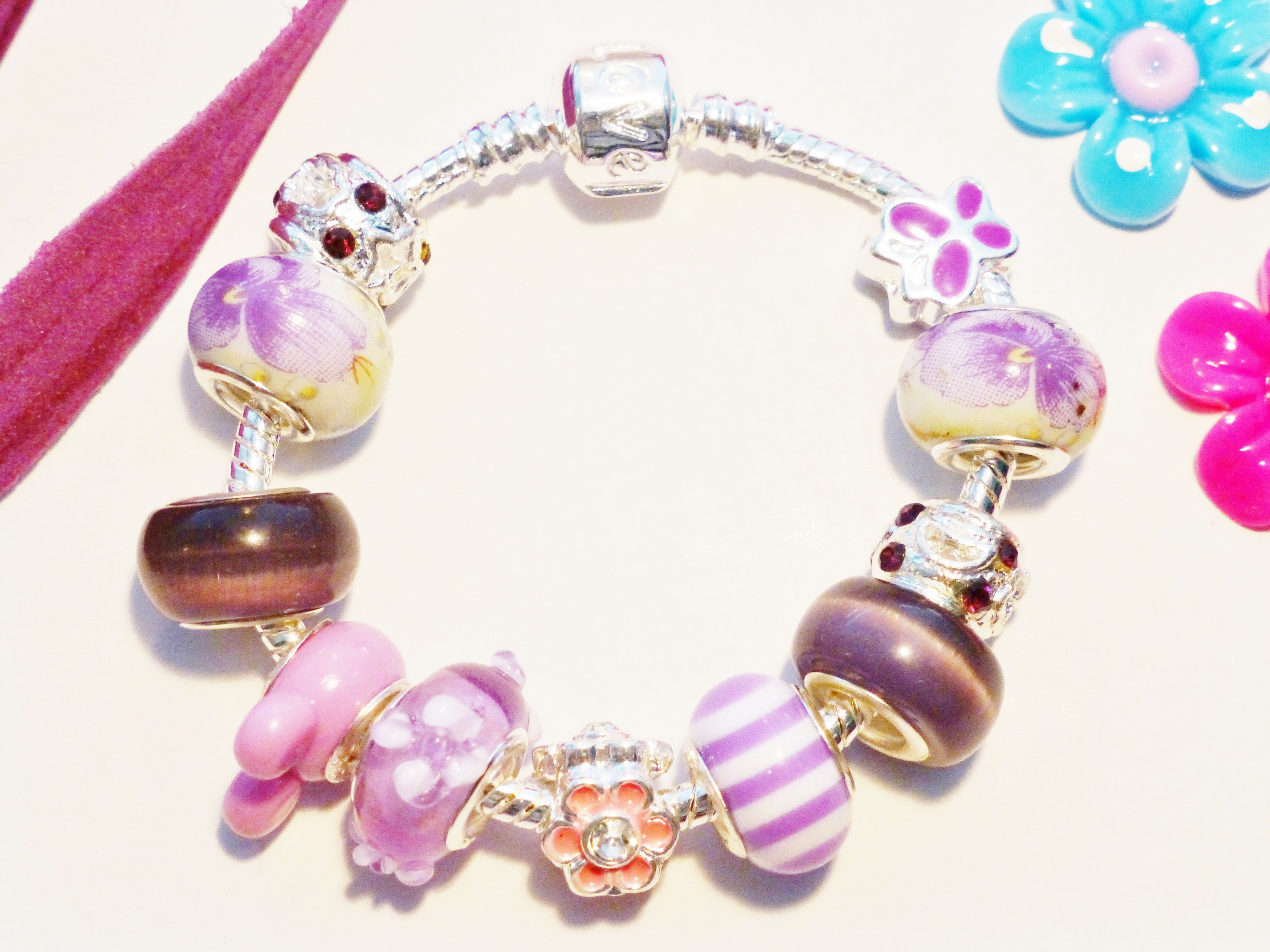 Purpal Childs Charm Bracelet Complete With Charms To View All Designs Or Purchase Enter