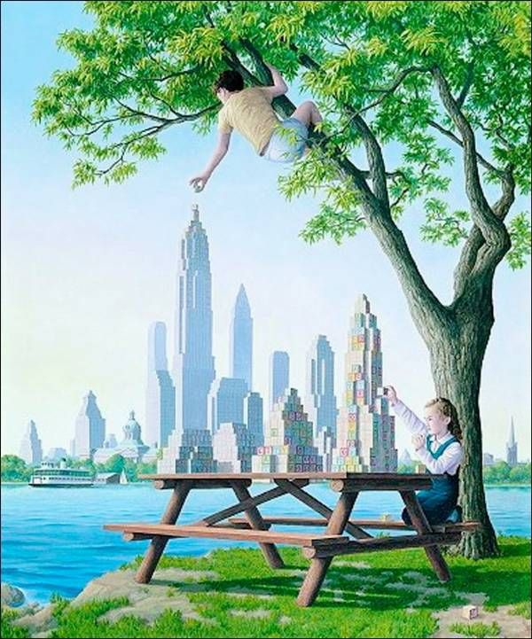 Surreal Paintings by Rob Gonsalves Ritemail .art..aRT