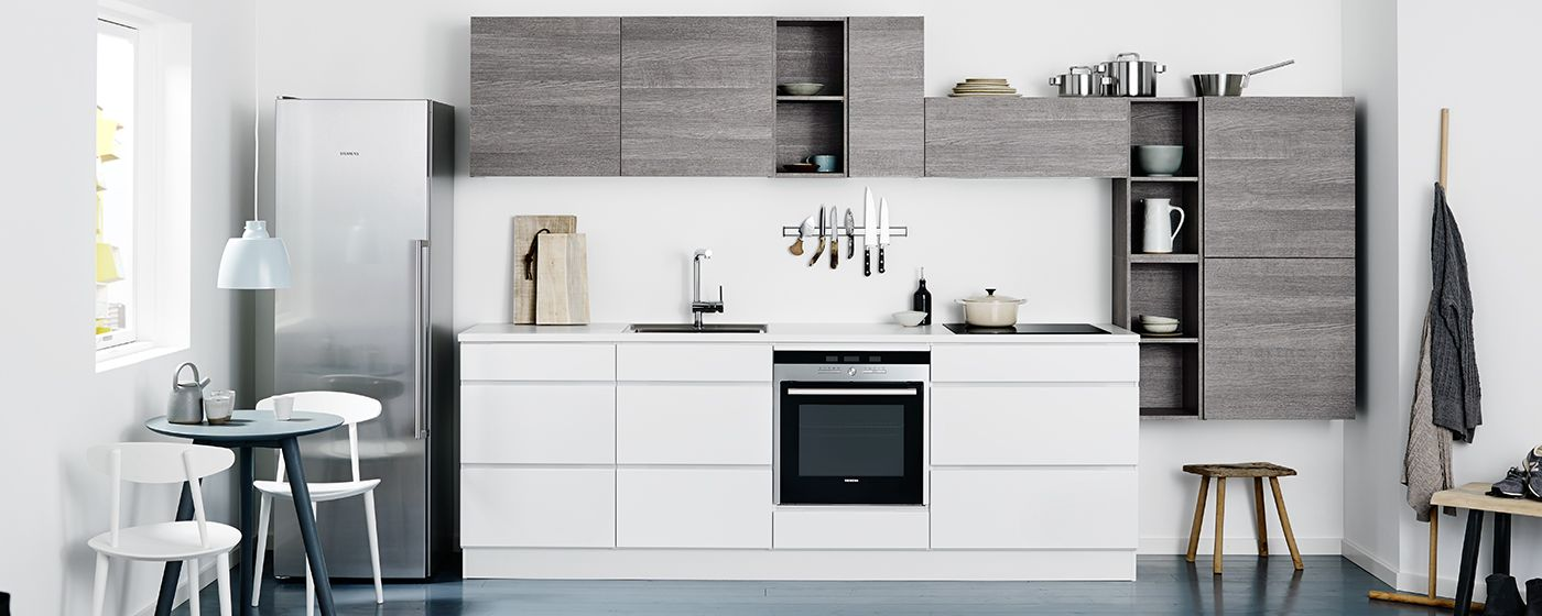 mano & ice wood køkken - klassisk køkken med kant - kvik | køkken
