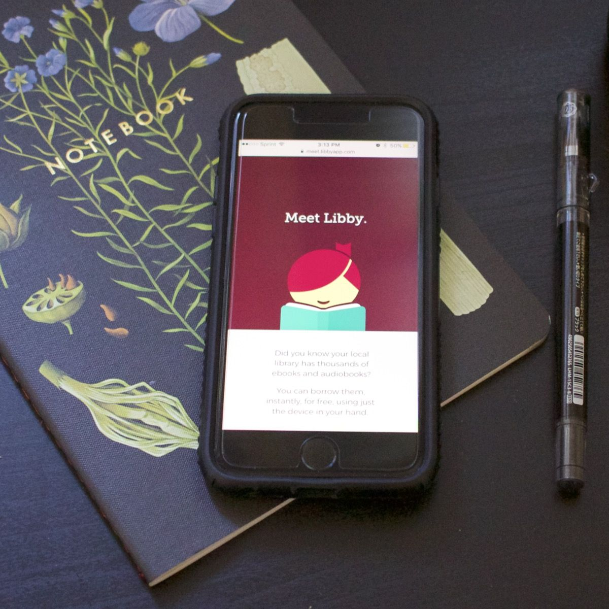 Check out the new app for reading and listening to free
