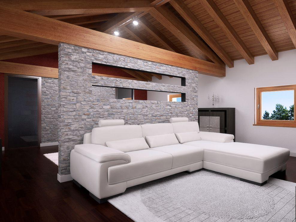 Luca peressutti architetto mansarda immagine 2 di 10 for Architetto per interni