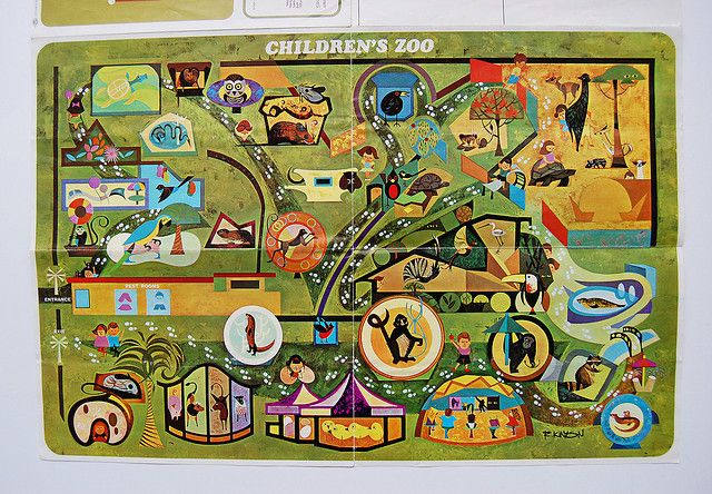 San Diego Zoo Map San Diego Zoo Zoos And San Diego - San diego zoo map