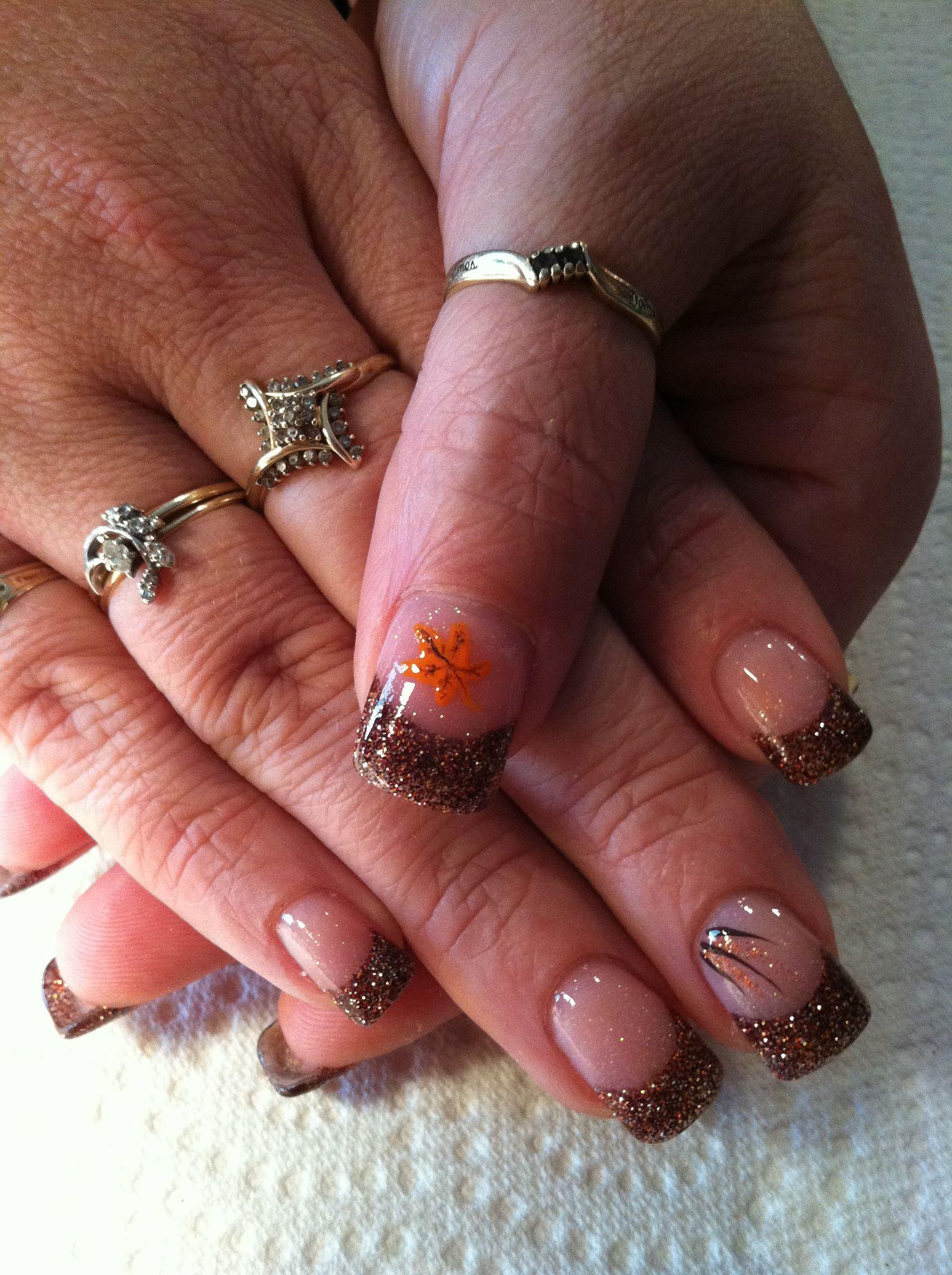 Autumn Nails, Nail Art, Nails