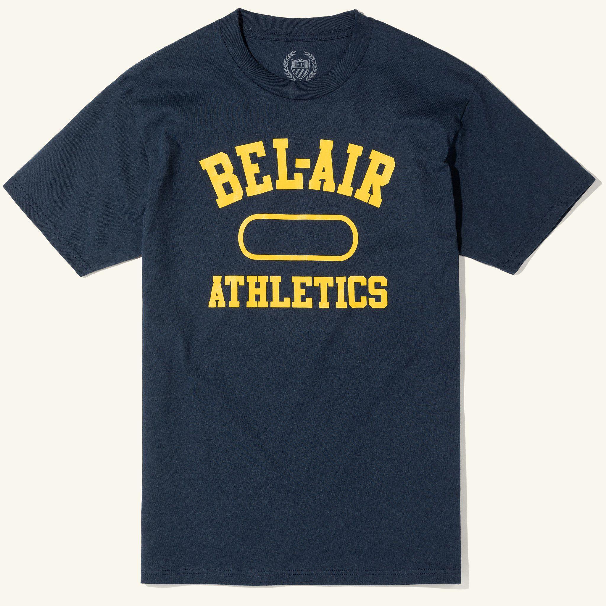 BelAir Athletics Tee, Navy Bel air, Athlete, Mens tops