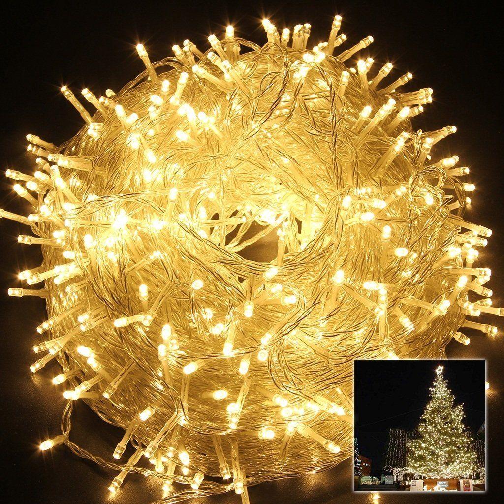 safe 24v 8 modes 500 leds 100m328ft christmas lights fairy lights dc transformer with transparent string for bedroom patio party safe 24v 500 leds 100m