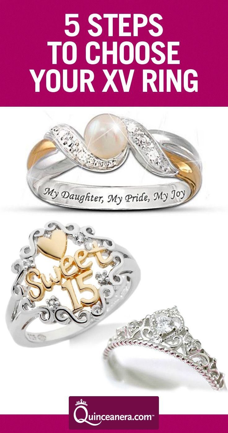 5 Steps to Choose the Best Quinceanera Rings | jewels ...
