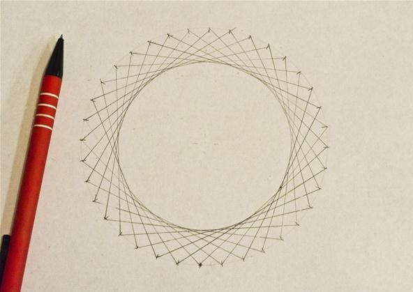 How To Make Straight Line Art : How to create concentric circles ellipses cardioids more using