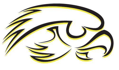 Iowa Hawkeyes Logo Varient Iowa Hawkeyes Hawkeyes Iowa