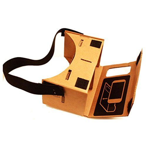 3D Cardboard Glasses TOOPOOT Google Cardboard Valencia Quality VR 3D Virtual Reality Glasses ** Find out more about the great product at the image link.Note:It is affiliate link to Amazon.