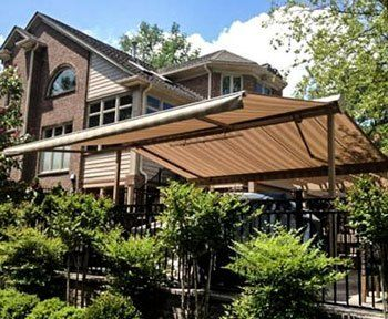 Custom Canopy | Patio awning, Retractable awning, Screened ...