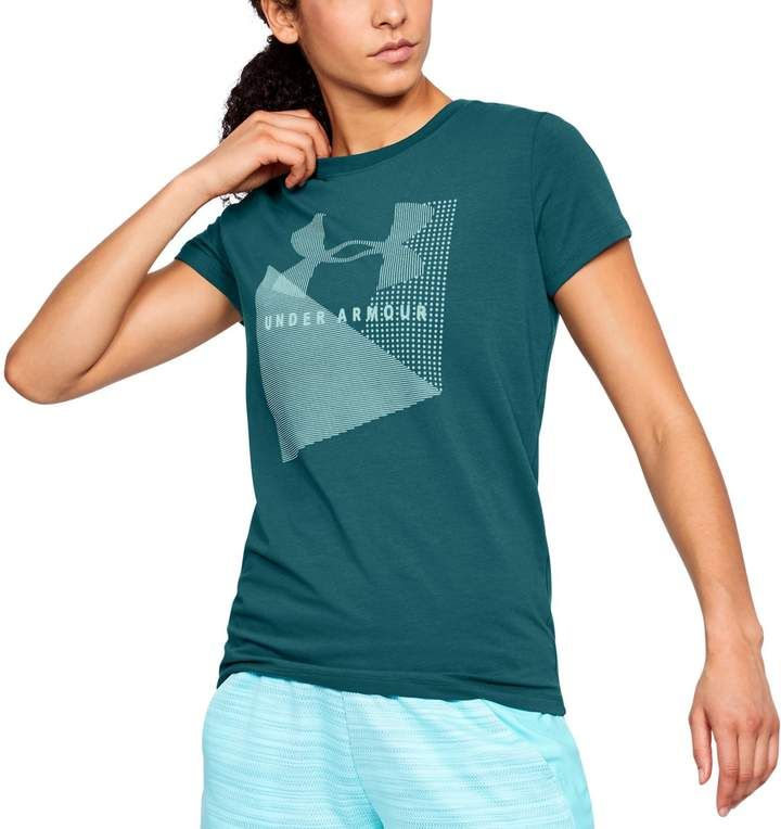 76aa3a058 Women's Under Armour Sportstyle Logo Crew Graphic Tee | Clothes I ...