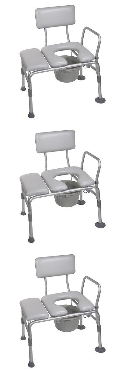 Toilet Frames and Commodes: Handicap Toilet Seat Handicapped Padded ...