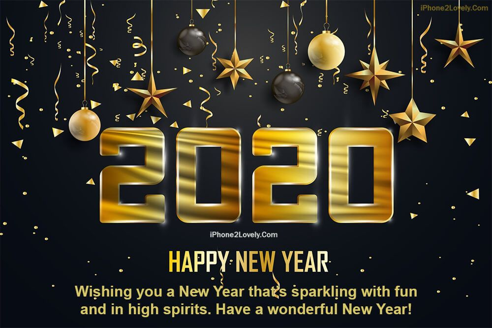 50 Inspiring Happy New Year 2020 Greeting Cards (eCards