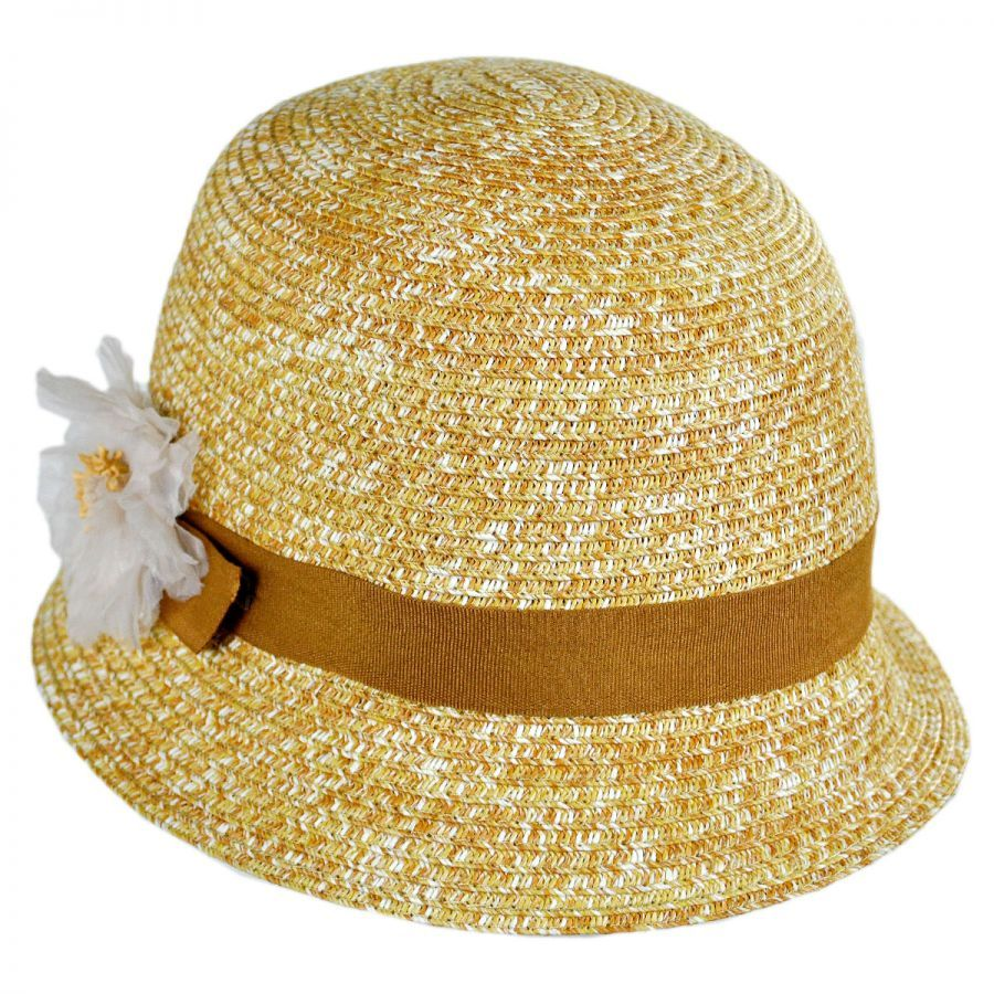 Betmar Inge Cloche Hat  villagehatshop Cute little summer straw cloche 954ee9c3242