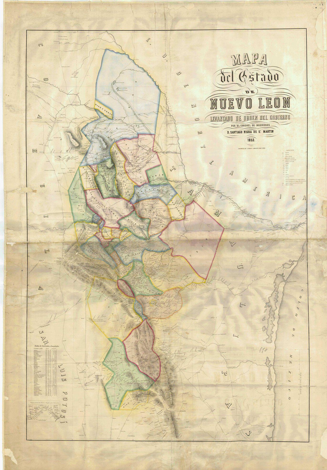 Where is Monterrey, Mexico? / Monterrey, Nuevo Leon Map ... |Old Monterrey Mexico Map