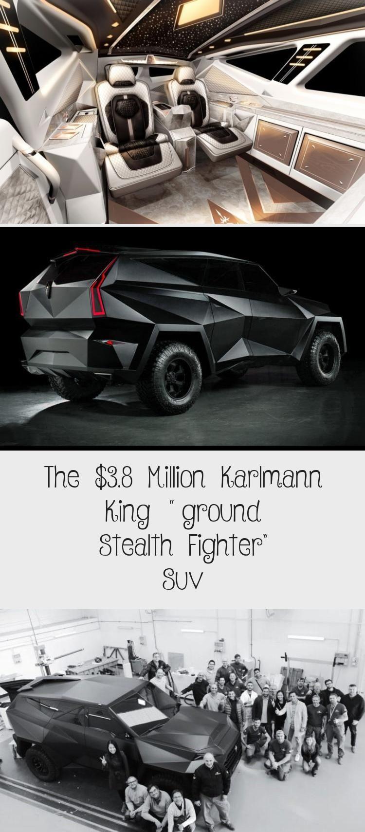 """The 3.8 Million Karlmann King """"ground Stealth Fighter"""