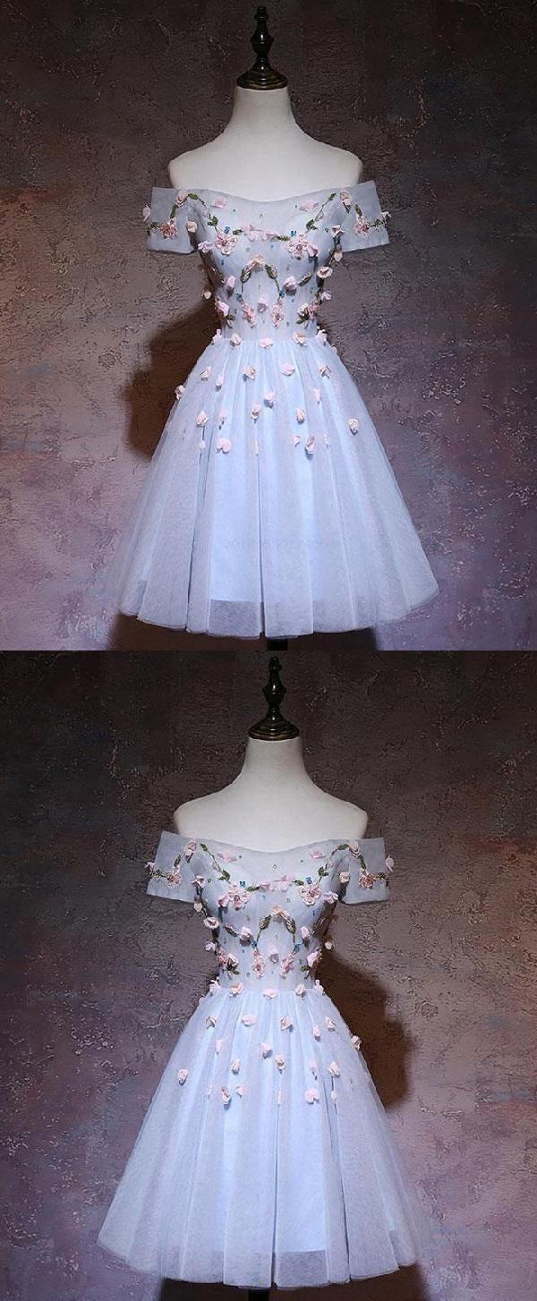 Prom Dresses Short Cute Prom Dresses Prom Dresses Blue LUU