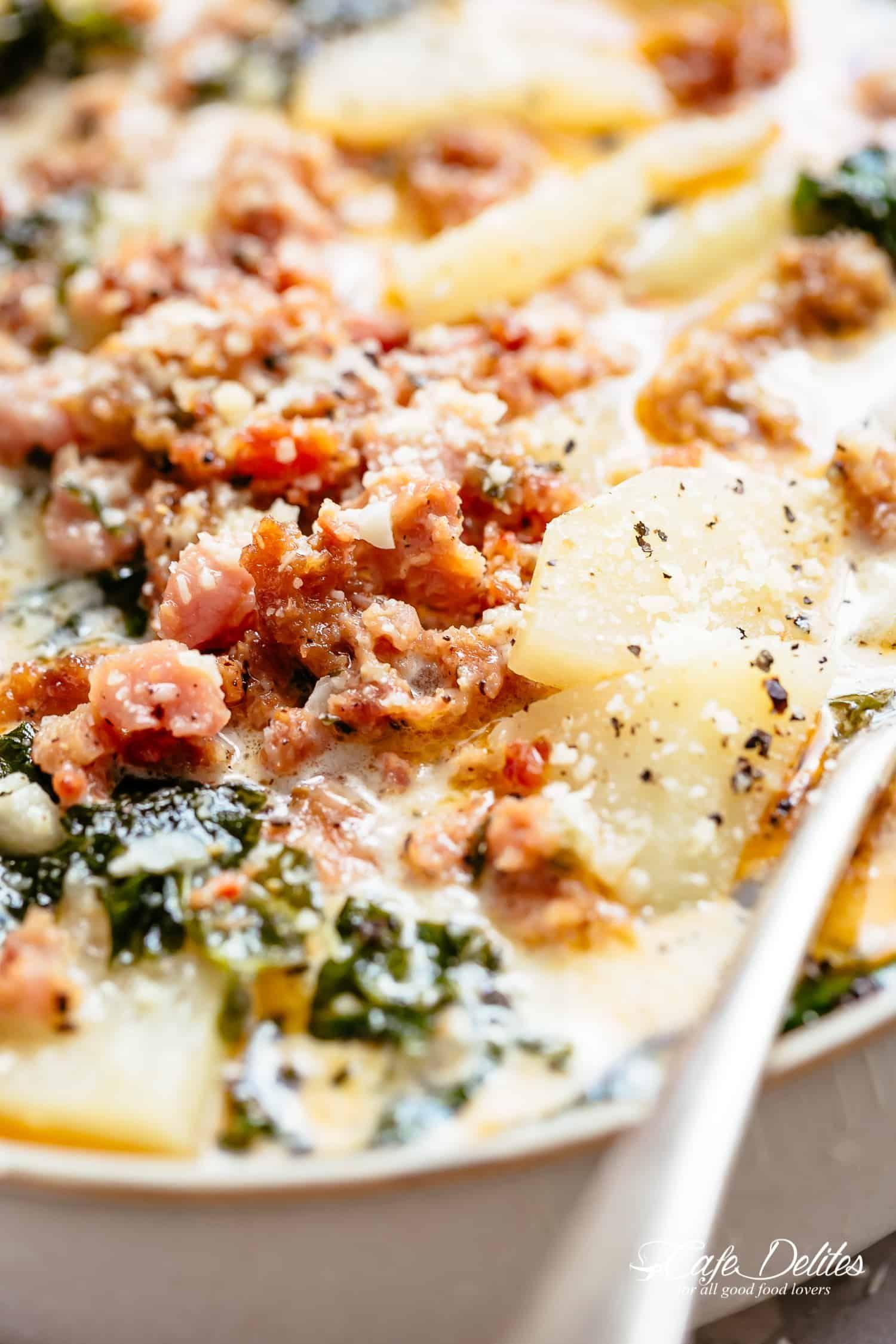 Olive Garden soups Zuppa Toscana Olive