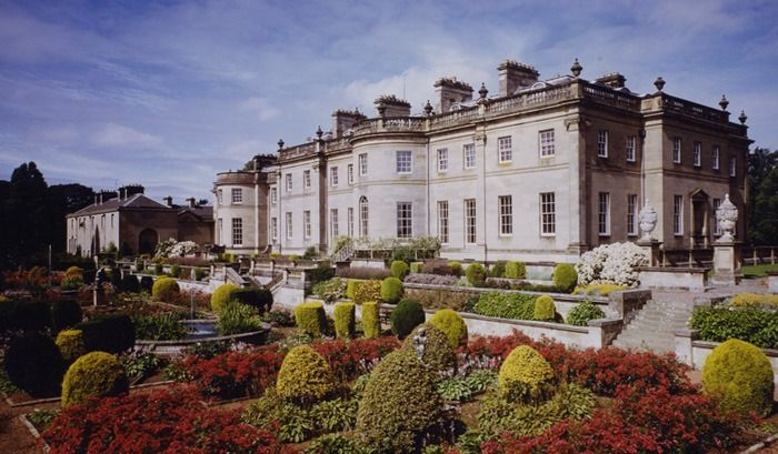 Manderston House Duns Berwickshire Scotland Is The Home Of Adrian Bailie Nottage Palmer 4th Baron Palmer It Was Completely Rebuilt Between 1901