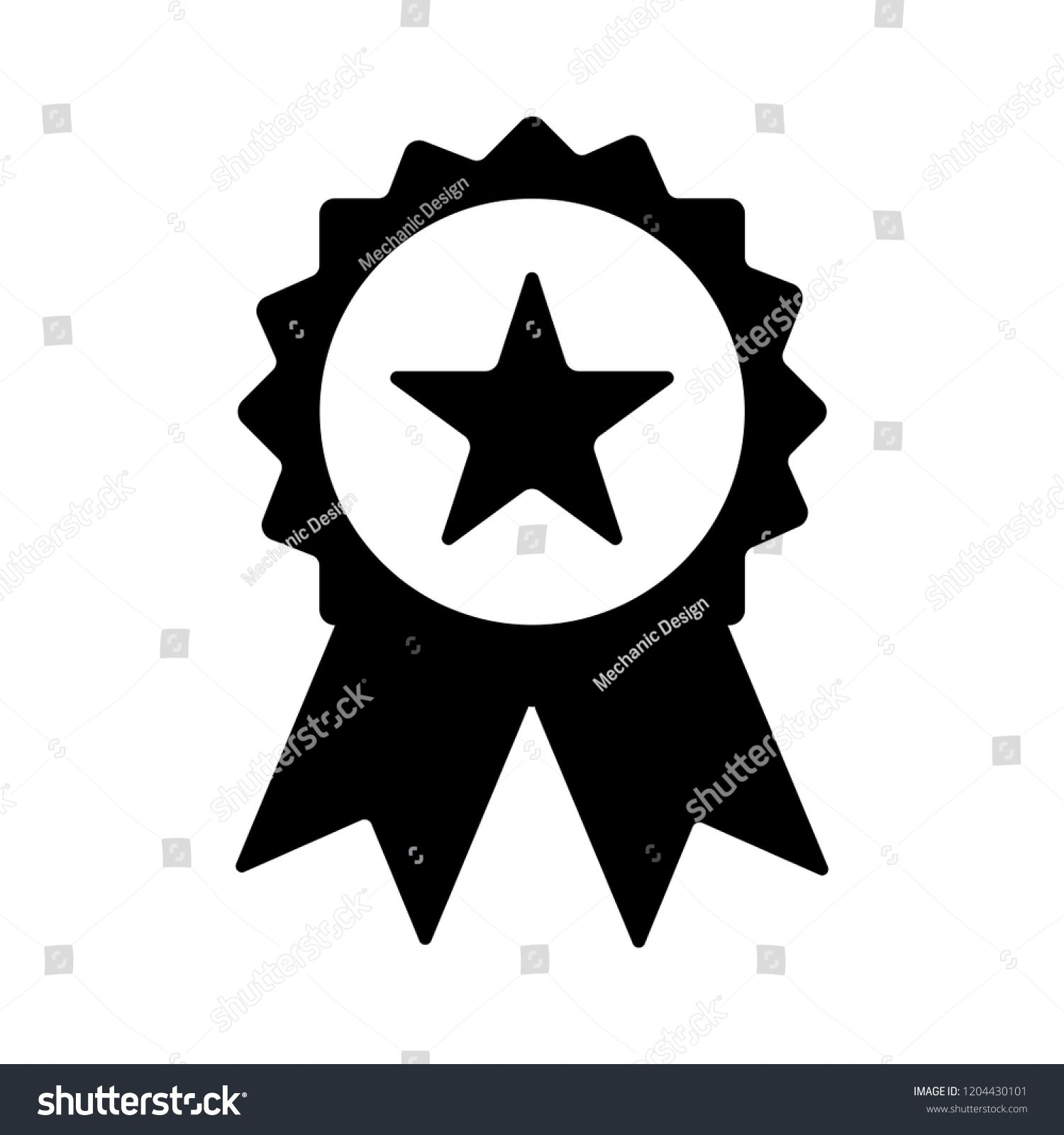 64c486d43036 certification seal icon - vector award badge