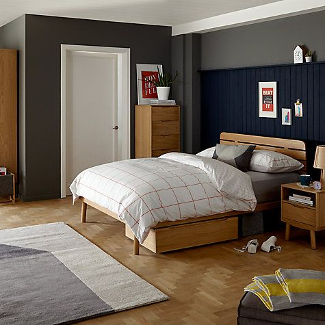 Bedroom Ideas John Lewis housejohn lewis bow slatted headboard bed frame, king size
