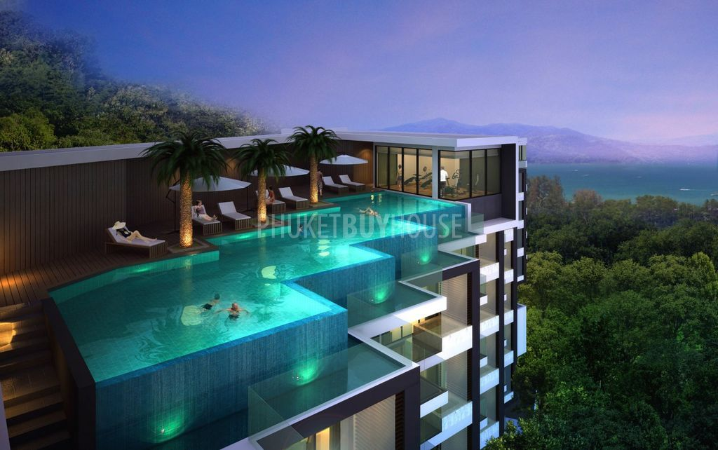 Diamond hills on surin beach phuket, thailand   rooftop pool and ...