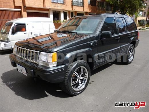 Jeep Grand Cherokee Limited 5 2 Automatica Modelo 1995 Precio Y Ficha Tecnica Jeep Grand Cherokee Limited Jeep Grand Cherokee Cherokee Limited