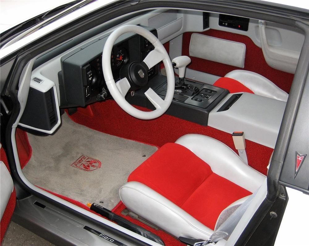 pontiac fiero indy 500 pace car interior 1984 80s anybody the rh pinterest com Pontiac Fiero Drag Car 1981 Pontiac Fiero