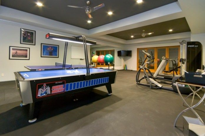 So here's a brand new workout you can do without any fitness equipment at all. Use your game room not just for games but also for fitness ...