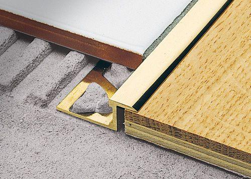 Brass Edge Trim For Tiles Linetec Pt Profilitec Flooring