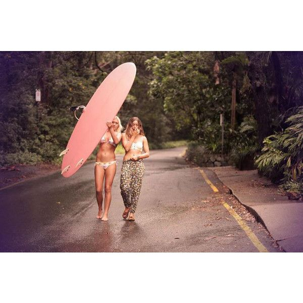 Behind The Scenes Of The Billabong Hi Summer Swimwear Shoot Surf found on Polyvore