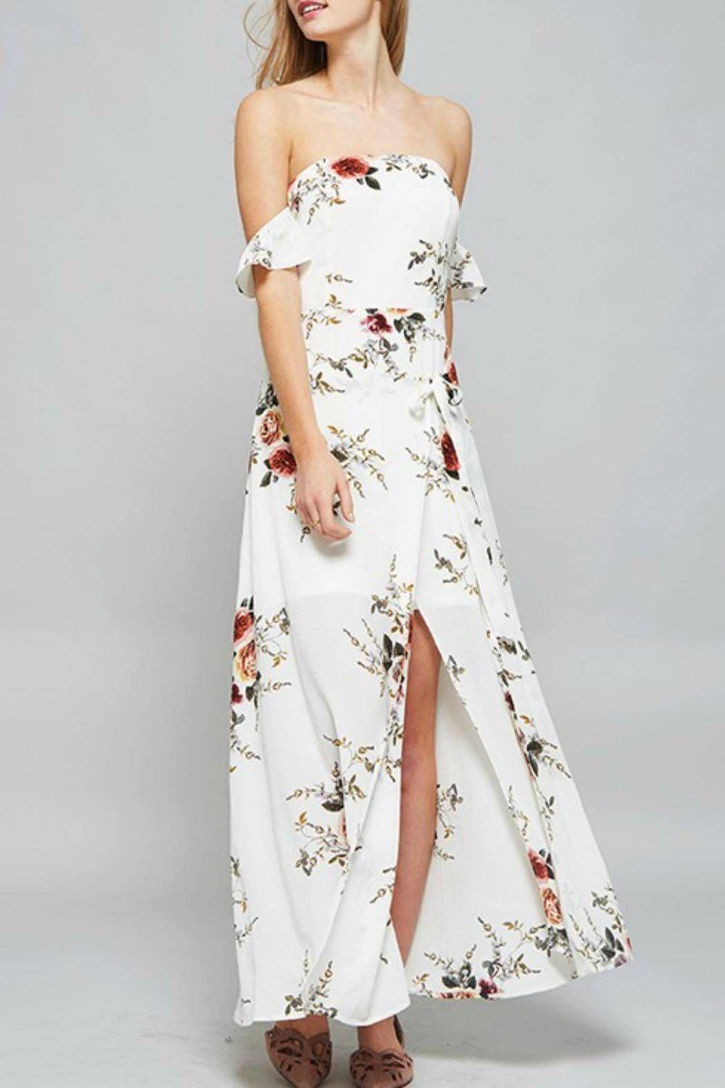 Floral maxi dress usa
