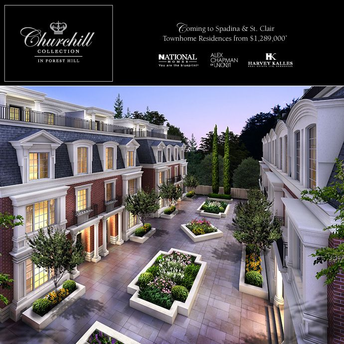 The churchill collection in forest hill toronto luxury real estate the churchill collection in forest hill toronto luxury real estate development by national homes malvernweather Gallery