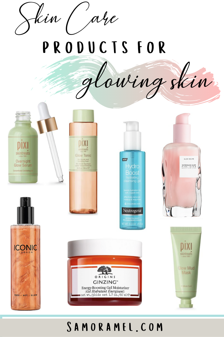 Want to know my top 9 favorite skin care products that results in