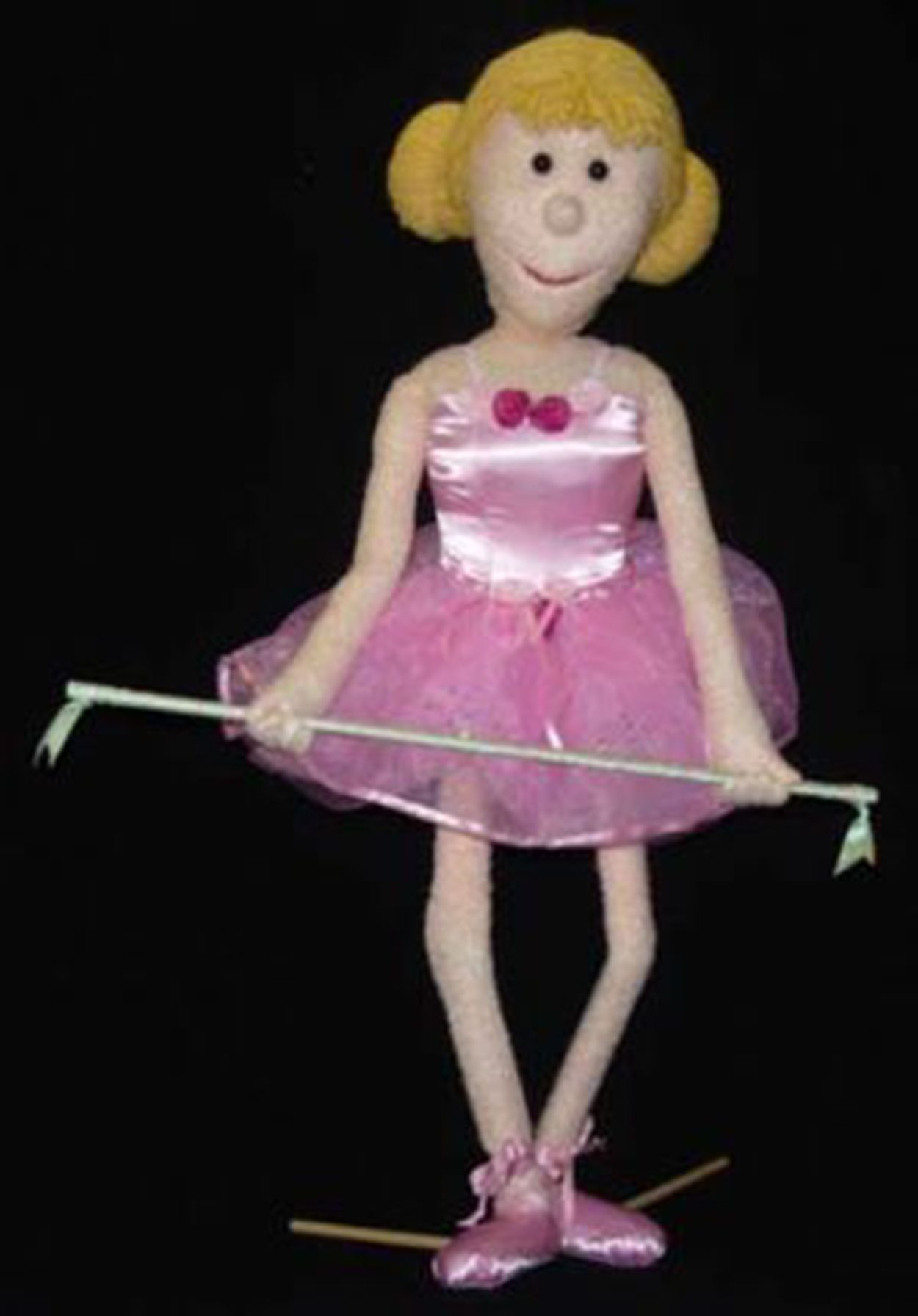 TIGHTROPE WALKER FEMALE #tightrope_walker_puppet #female tightrope_walker_puppet #female tight_rope_walker_puppet #circus_puppets