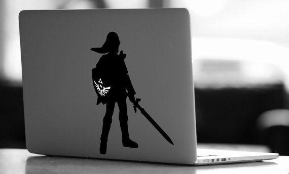 Zelda Mac Decal December 2017