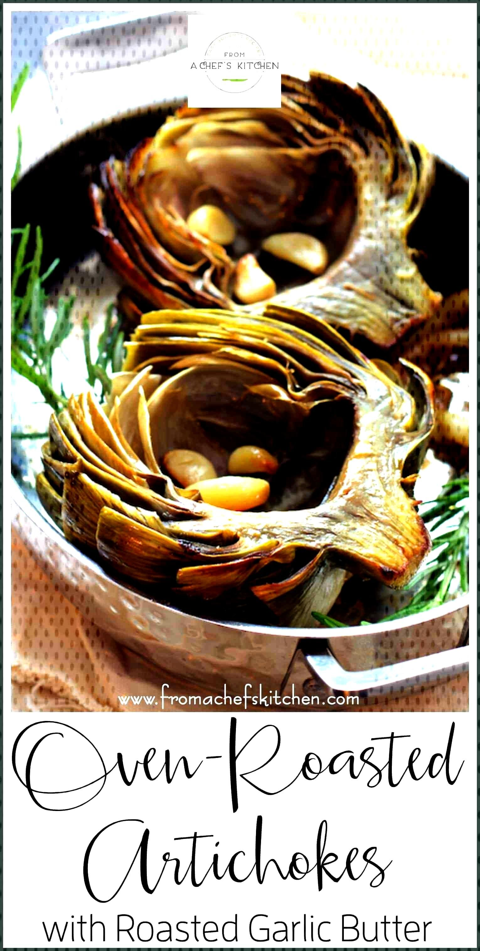 Don't boil or steam the delicate flavor of artichokes away! Oven Roasted Artichokes with Roasted