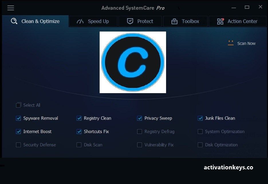 advanced systemcare 7.1 pro key