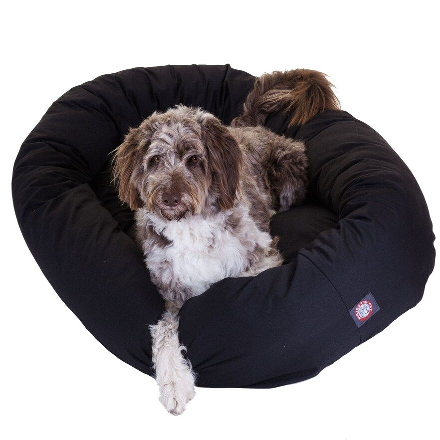 Majestic Pet Bagel Pet Bed 52 X 35 Dog Pet Beds Majestic Pet Pets