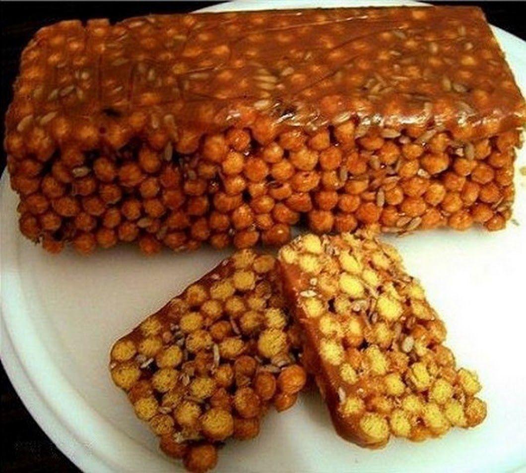 Блюдо из кукурузных палочек