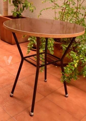 Mesilla vintage con estante en Madrid - vibbo - 97491649