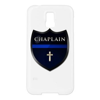 Police Chaplain Shield Samsung Galaxy S5 Case