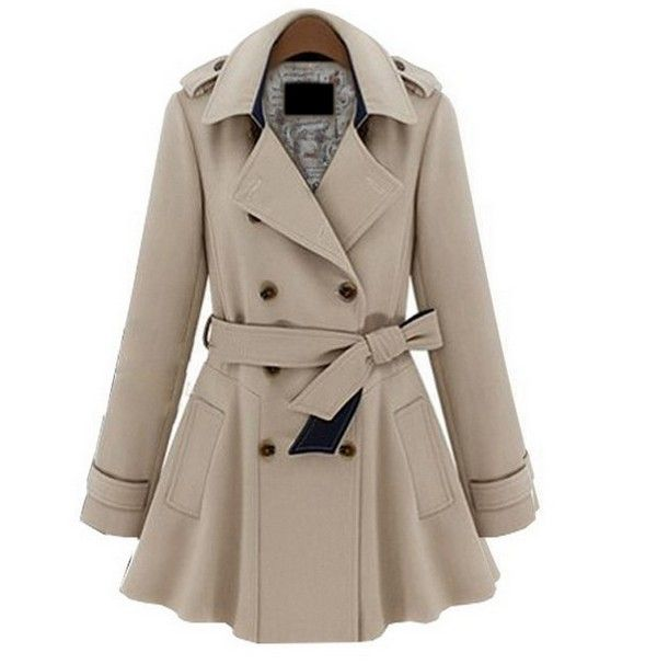Plus Coats Women Jackets Slim Blue | Love the, Fashion coat and ...