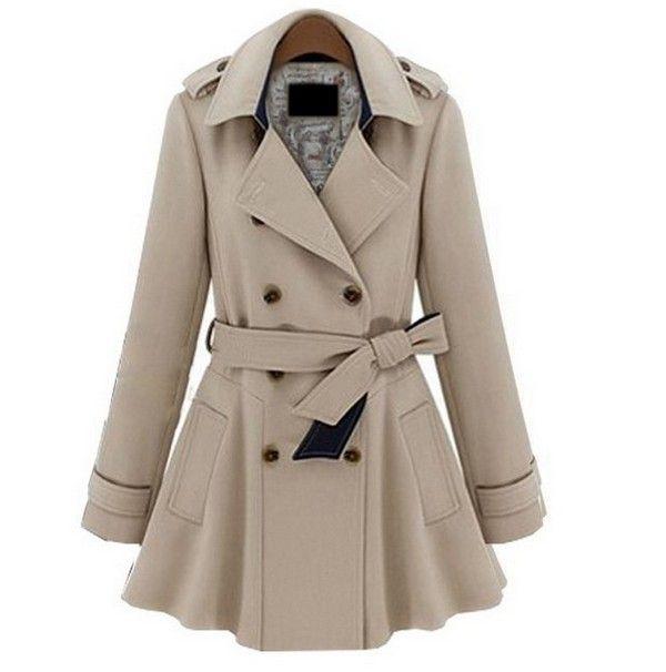 Plus Coats Women Jackets Slim Blue | Love the, Fashion coat and ...