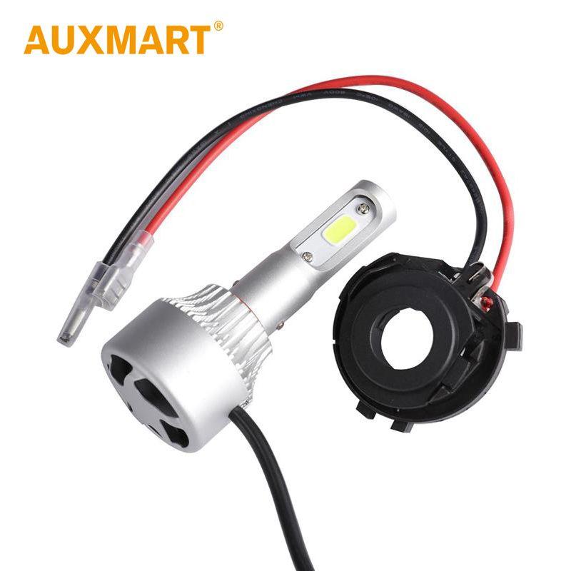 Auxmart H7 Adapter Base For Vw Golf Mk7 Auto Bulb H7 Led Headlights Sockets Base Lamp Car Led Light H7 Holder Sockets H 7 Car Led Lights Led Headlights Car Led