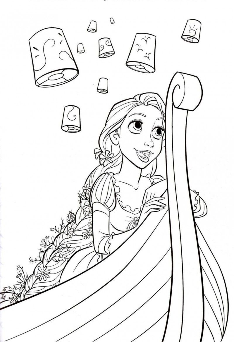 Disney Tangled Pascal Coloring Pages Tangled Coloring Pages