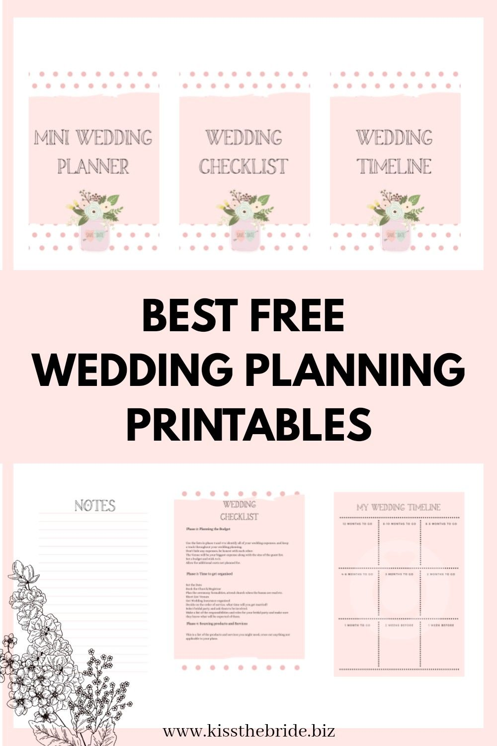 The Must Have Wedding Planner And It Is Free Kiss The Bride Magazine In 2020 Free Wedding Planning Printables Wedding Planner Printables Wedding Planning Printables