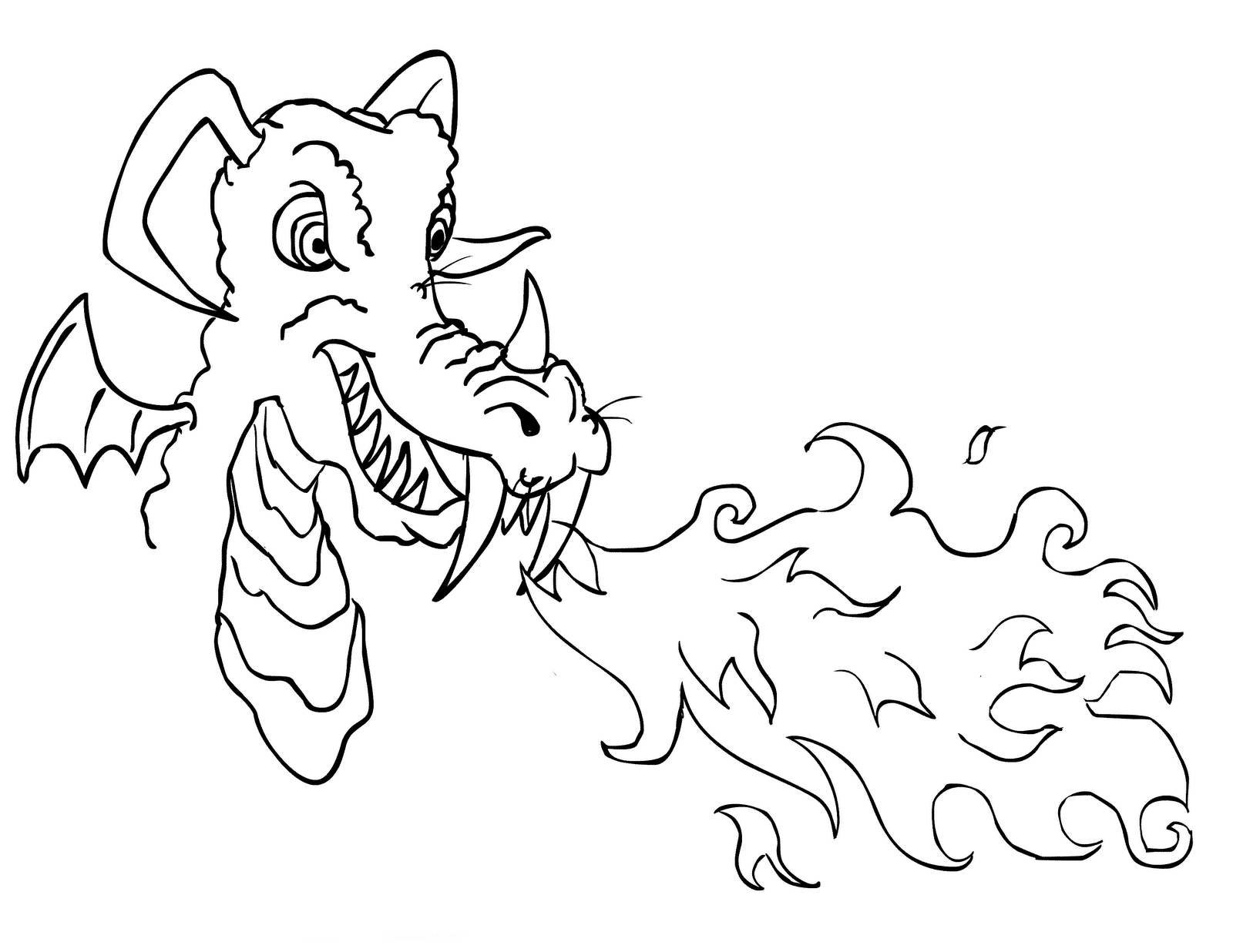 Dragon Coloring Pages Realistic Dragon Coloring Page Coloring Pages Detailed Coloring Pages