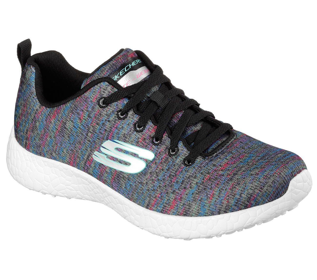 0dff6580e4c8 Skechers 12740 Bkmt Women S Burst- Influence Sneaker